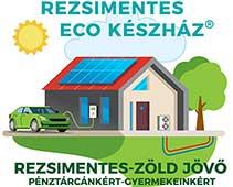 Rezsimentes ECO ÚJHÁZ Logo